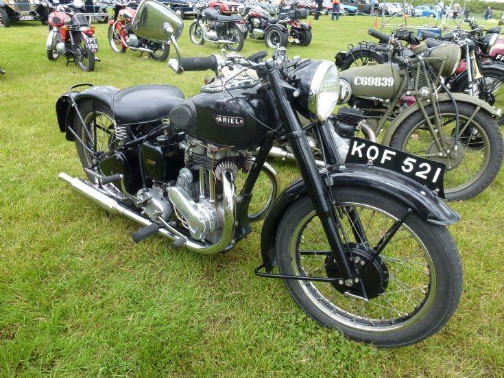 Classic Ariel motorbike
