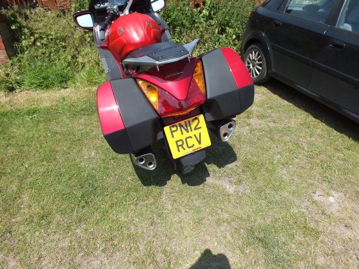 Honda Pan European in Dawlish