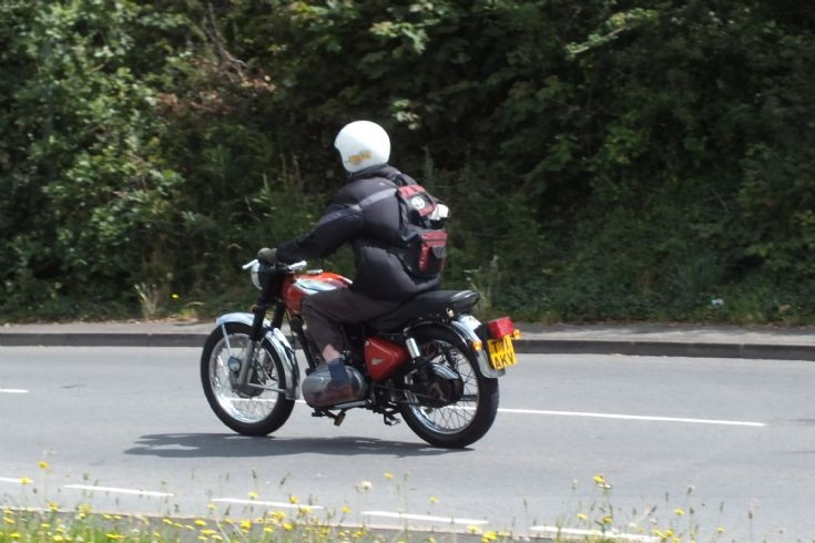 Unknown motorbike in Dawlish
