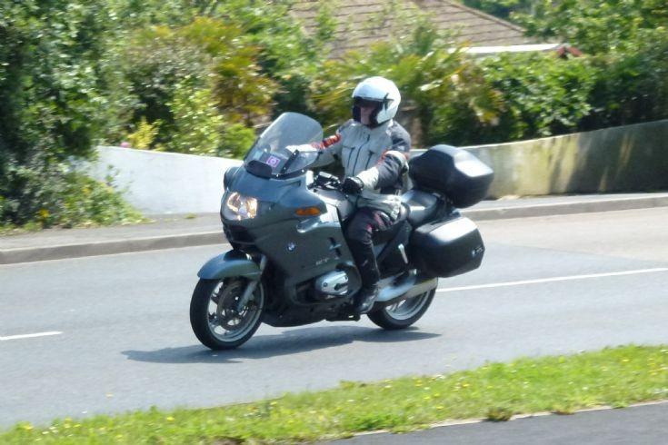 BMW Tourer on Devon Coast Run