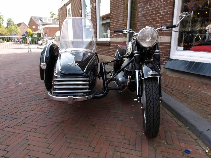 Photo of Auto Union motorbike