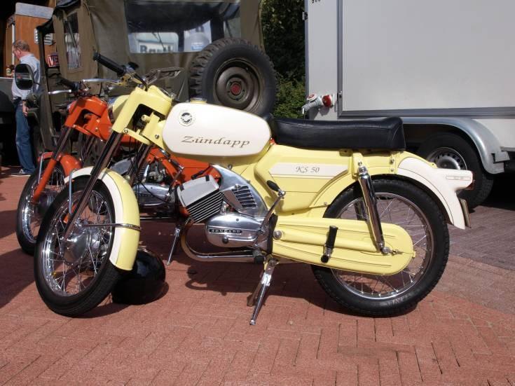 Zundapp KS50 moped