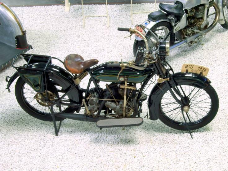 Vintage NSU motorcycle