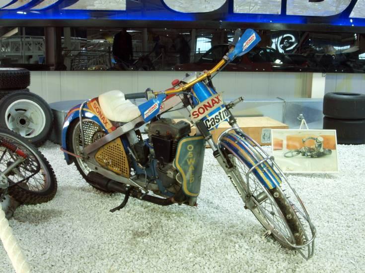 Photo of speedway motorbike