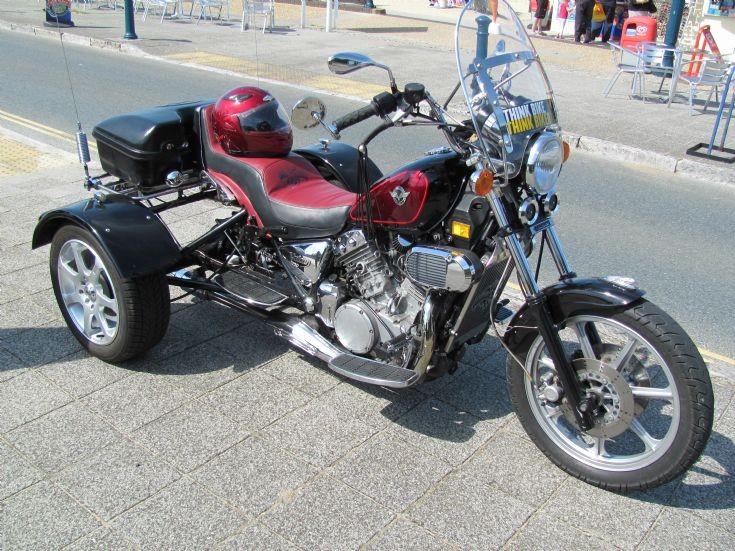 Kawasaki Vulcan trike
