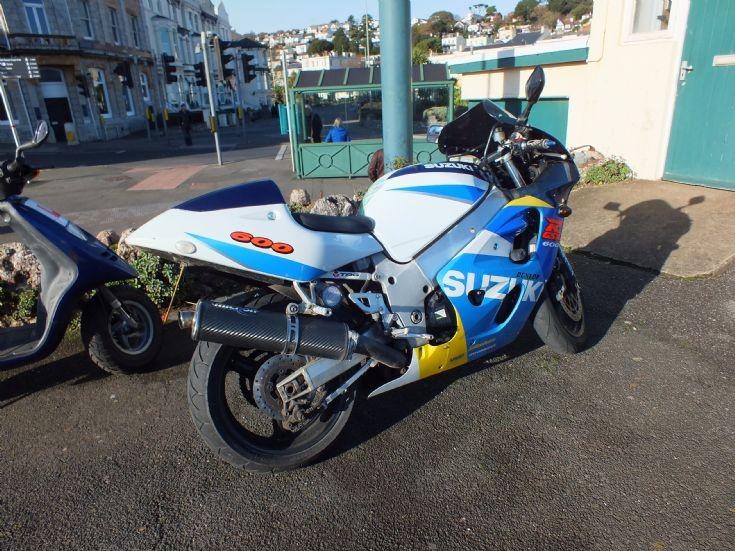 Suzuki RGSX 600