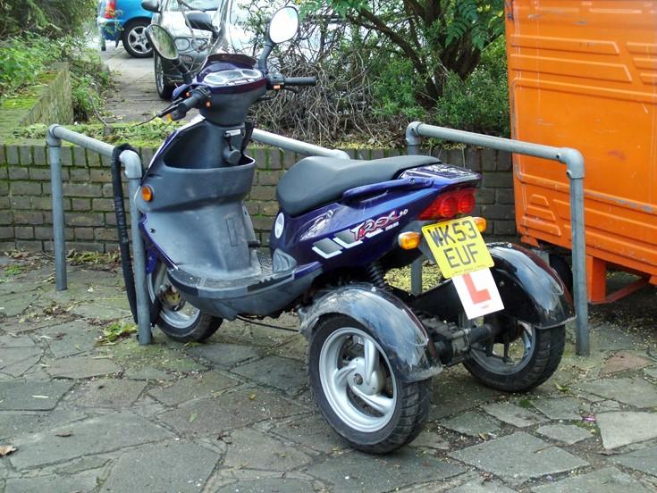 3 х колёсный скутер своими руками 72