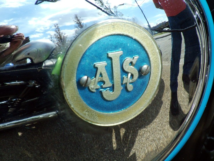 AJS Fuel Tank