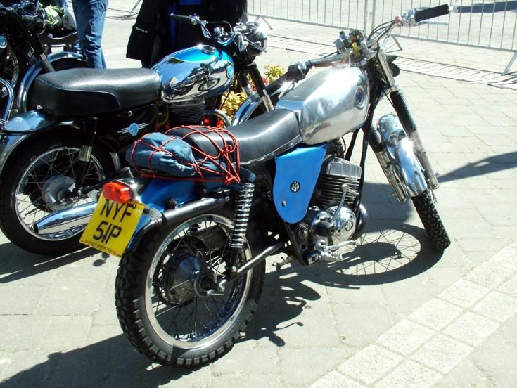 1973 AJS 250cc Single cylinder