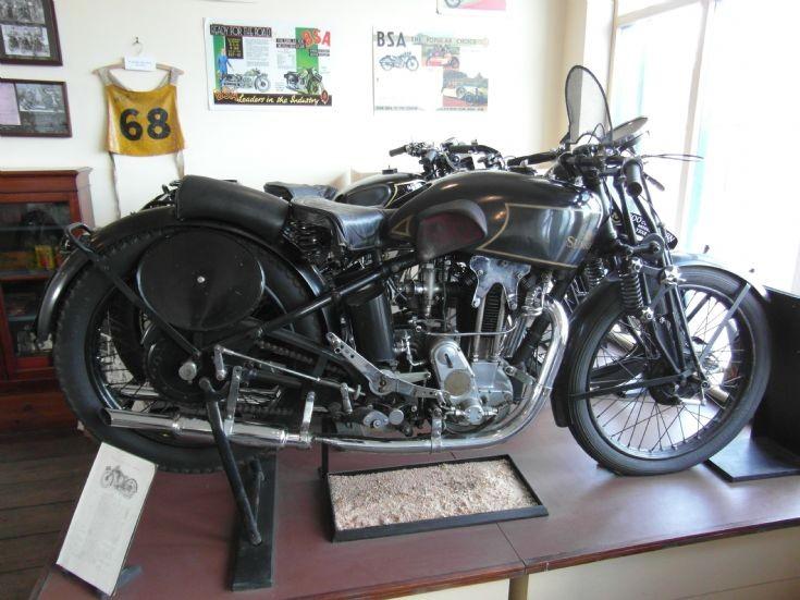Sunbeam TT motorbike