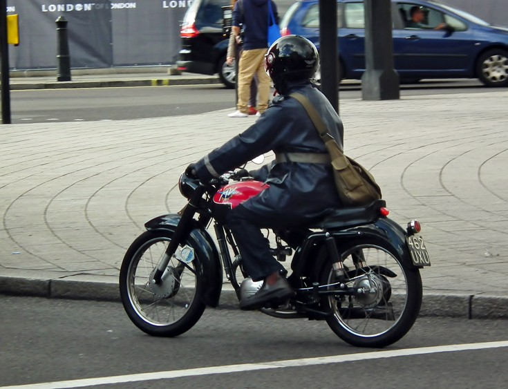 Classic MV Agusta motorbike