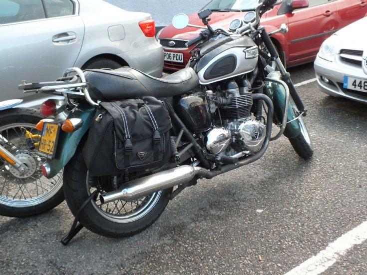 Dutch Triumph Bonneville