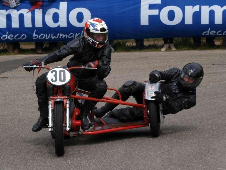 Classic sidecar racing