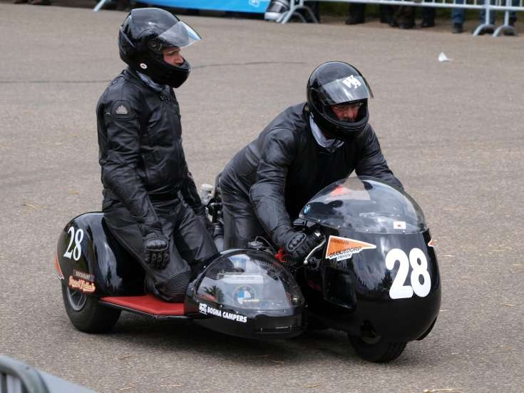 Bosma & Campers on old BMW