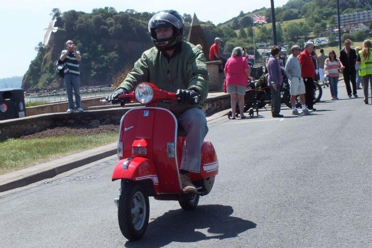HF51 RXA a Piaggio Vespa