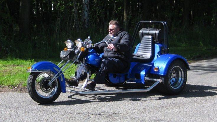 Blue Boss Trike
