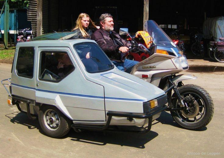 Honda GoldWing combination