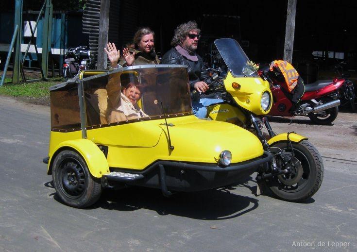 Moto Guzzi combination.