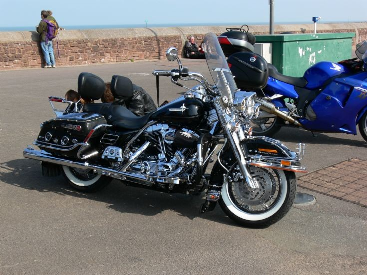 Harley at Minehead