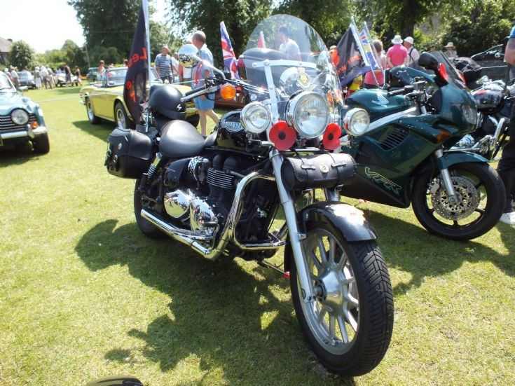 Triumph America at Bakewell