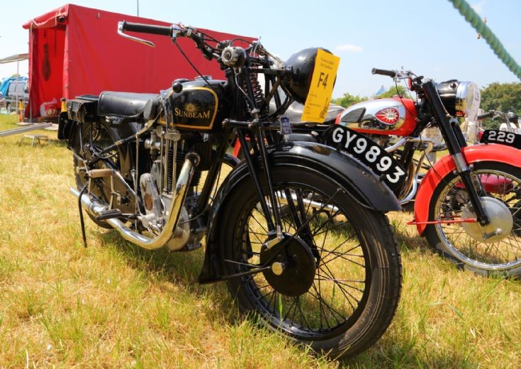 1932 Sunbeam Model 9 at Woodcote Steam Rally