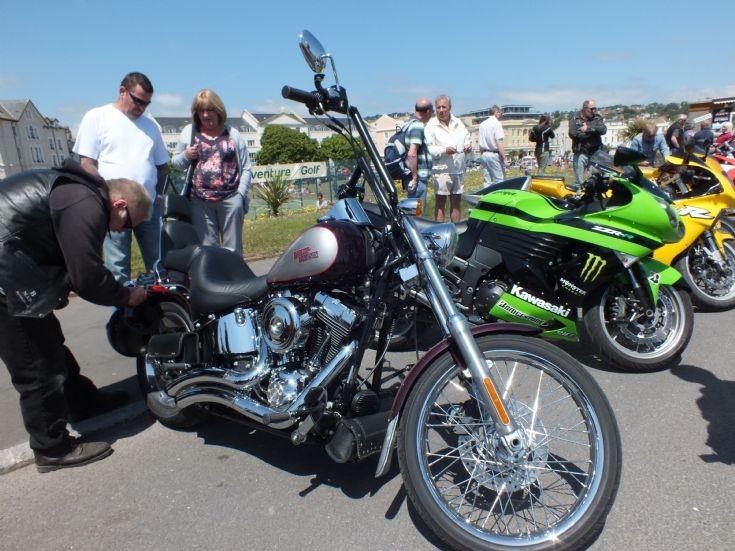 Very shiny Harley