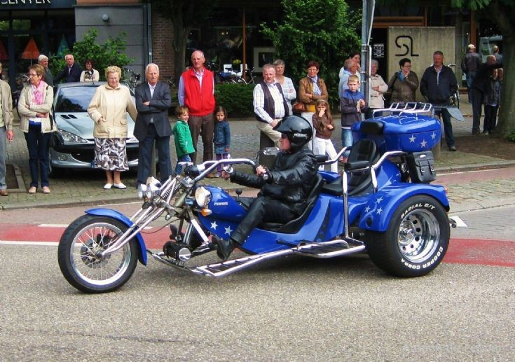 Blue Trike in Bocholt ( B )