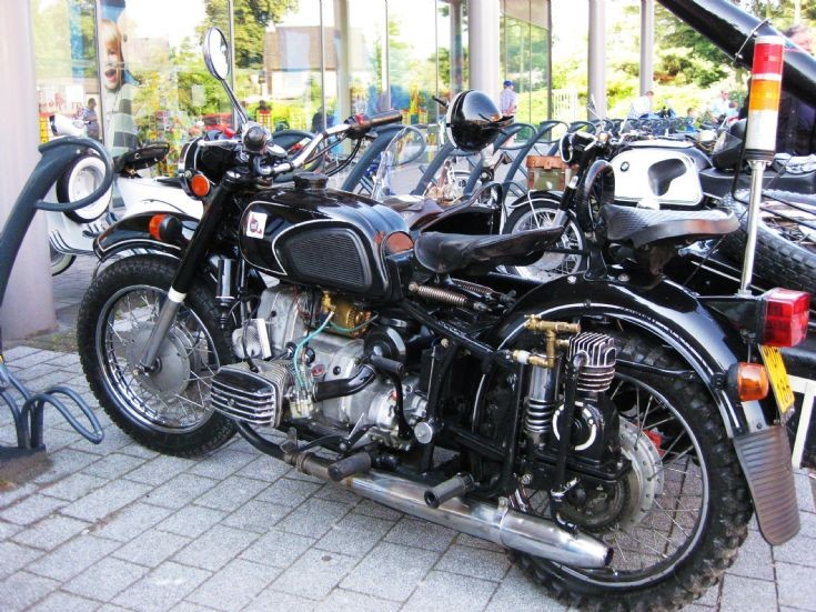side car combination in Maaseik ( B )