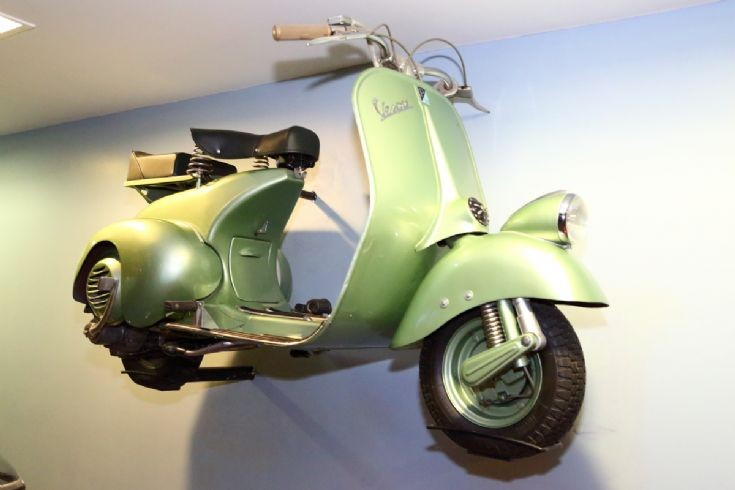 Vespa at London Science Museum