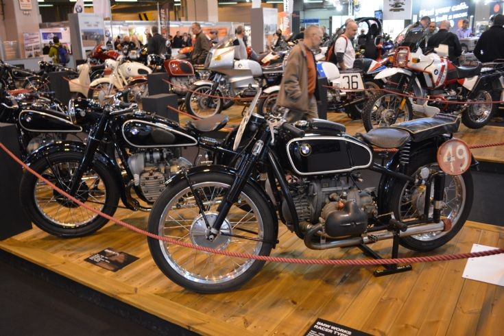 Variuos vintage BMWs