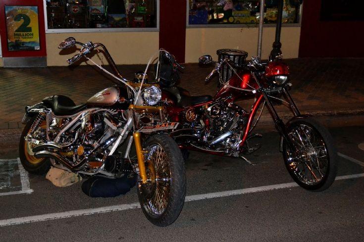 Night Time - Harley Davidson