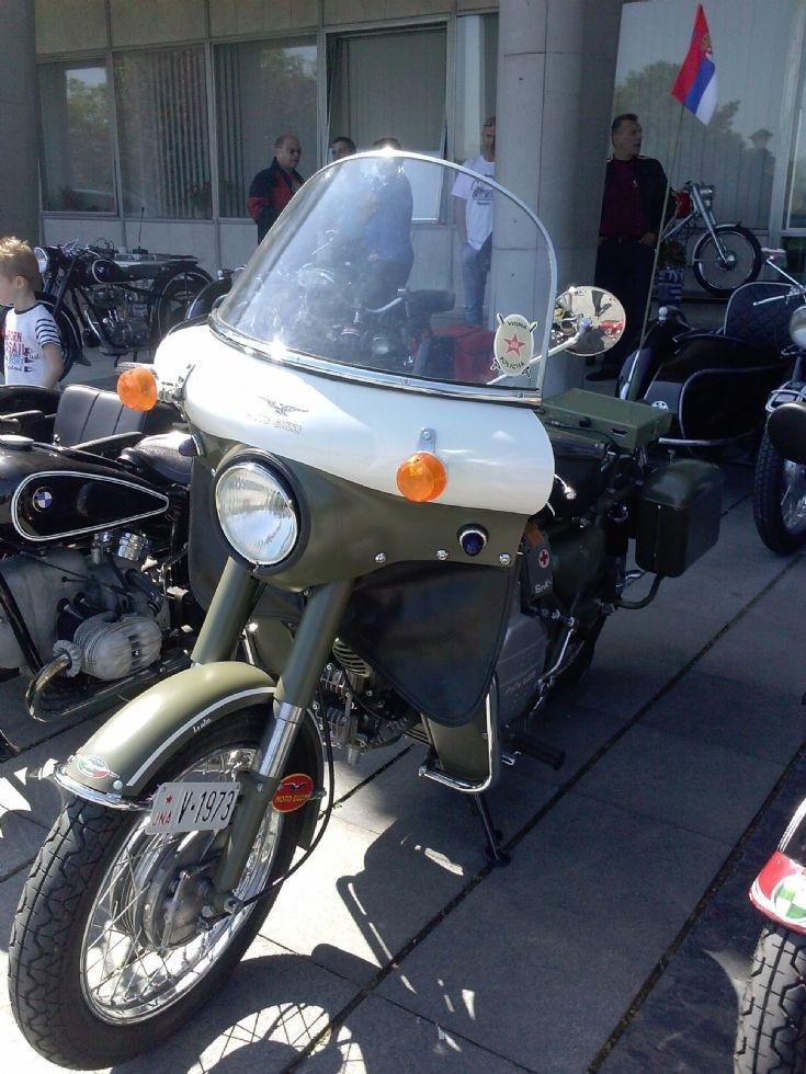 Moto Guzzi Falone 500