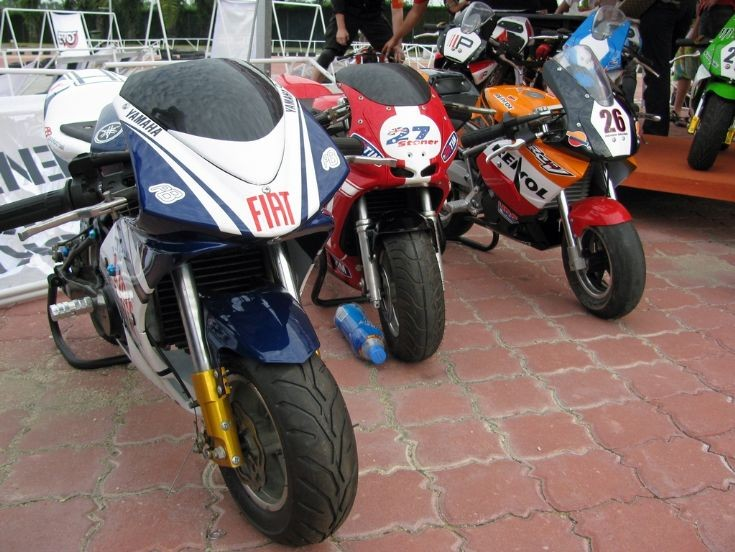 Race-Replica Pocketbikes