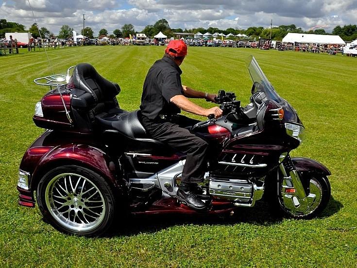Honda Gold Wing three wheel motorcycle