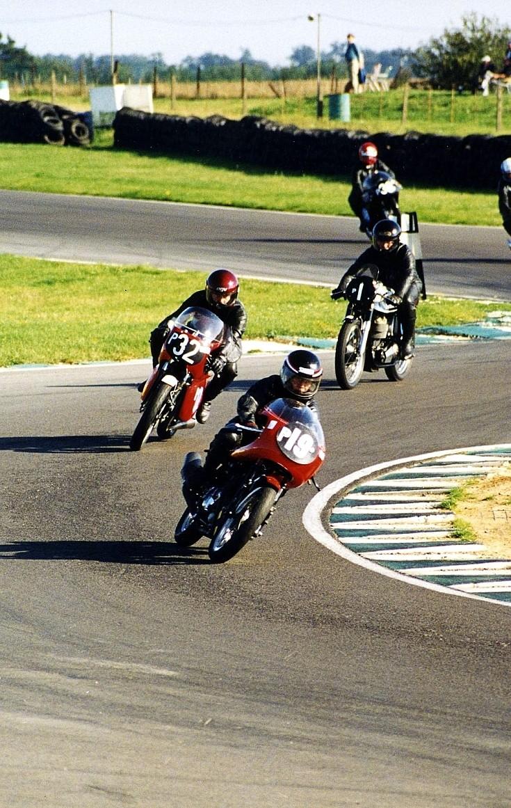 Bike racing at Snetterton 1990's
