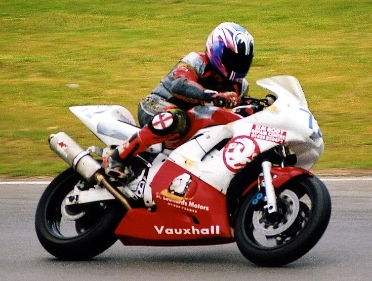 Vauxhall sponsoring bike racing