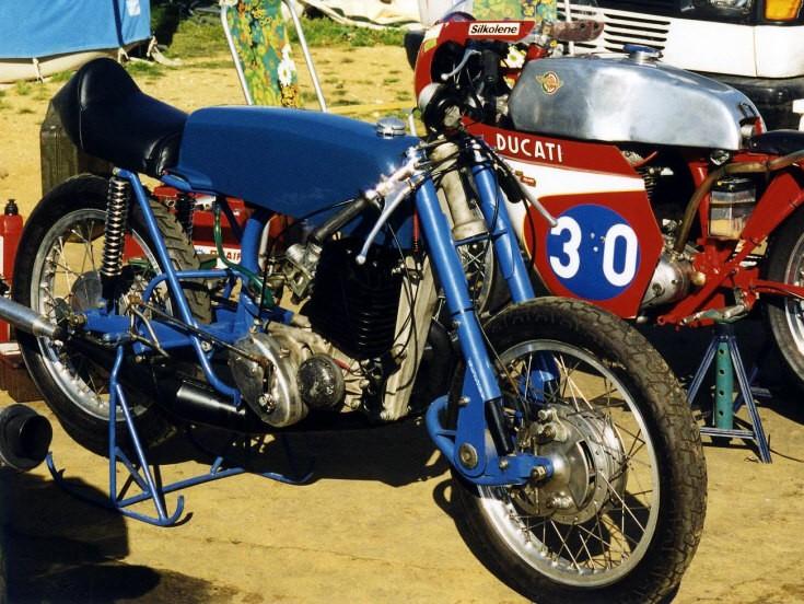 Streamlined Ducati