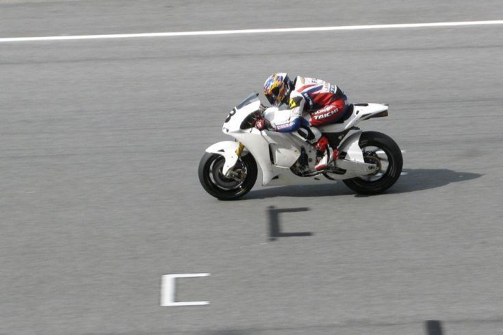 White Honda RC212V (Repsol Honda)