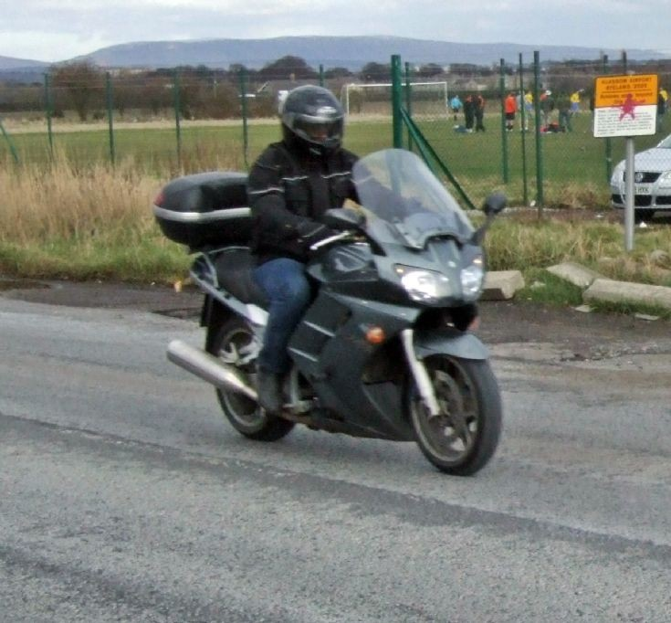 Mystery motorcycle