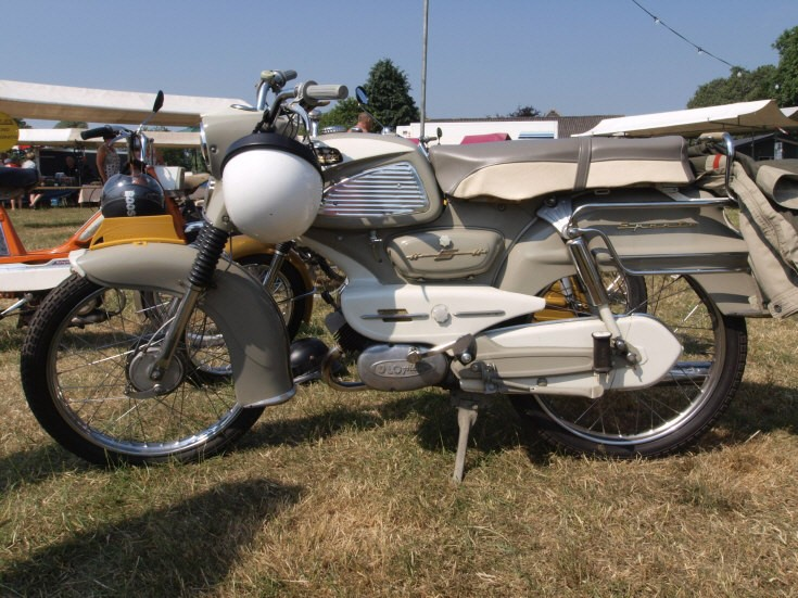 Sparta classic moped