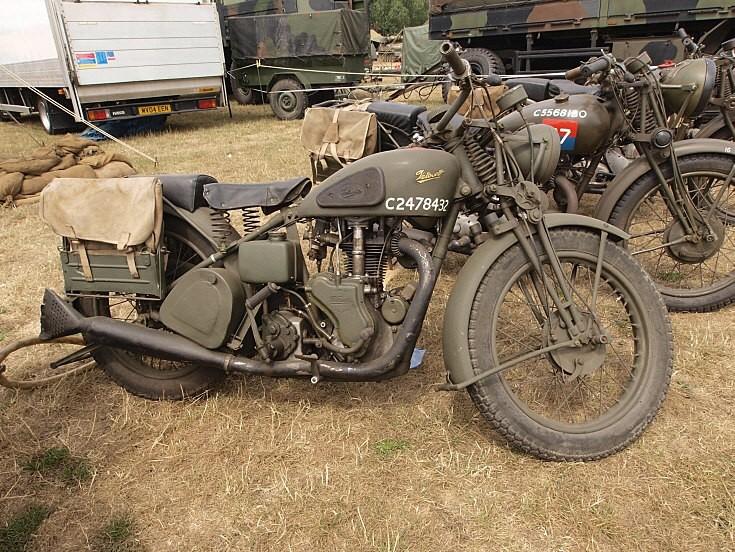 Velocette military motorbike