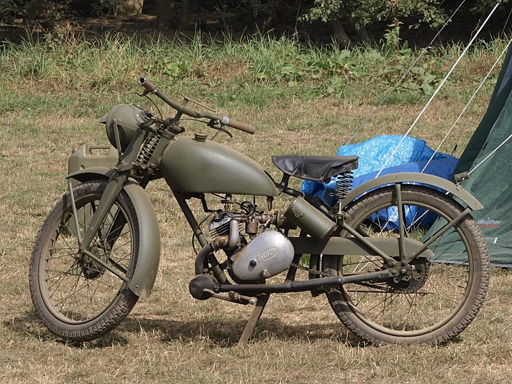 Villiers military motorcycle