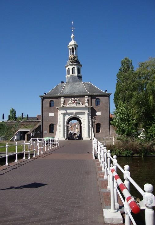 Clock in Zijlpoort