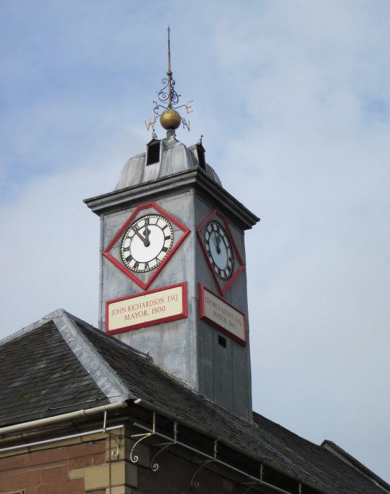 Clock in Carlisle