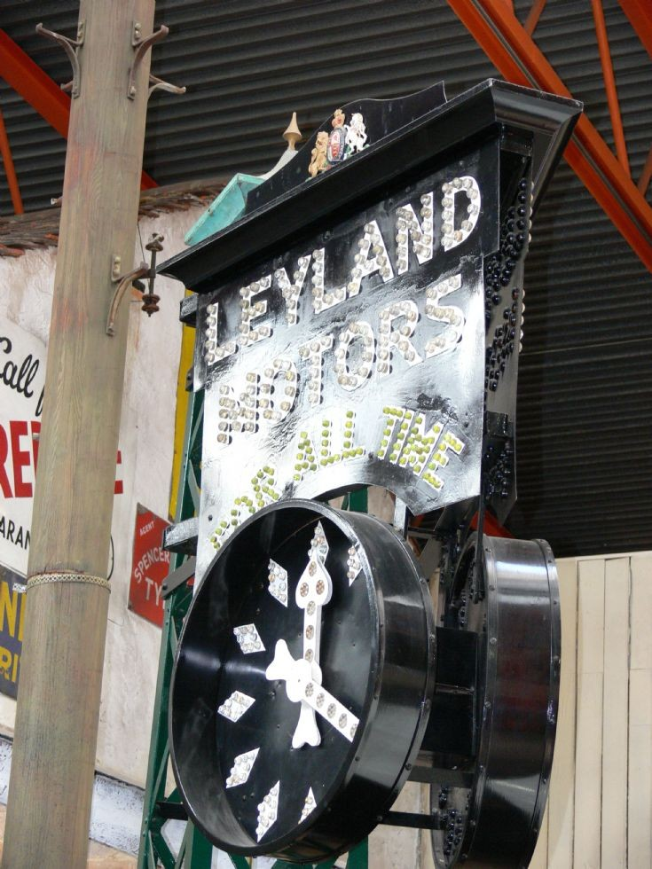 Leyland Motors Clock