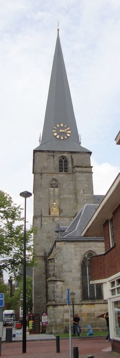Church clock in Haaksbergen