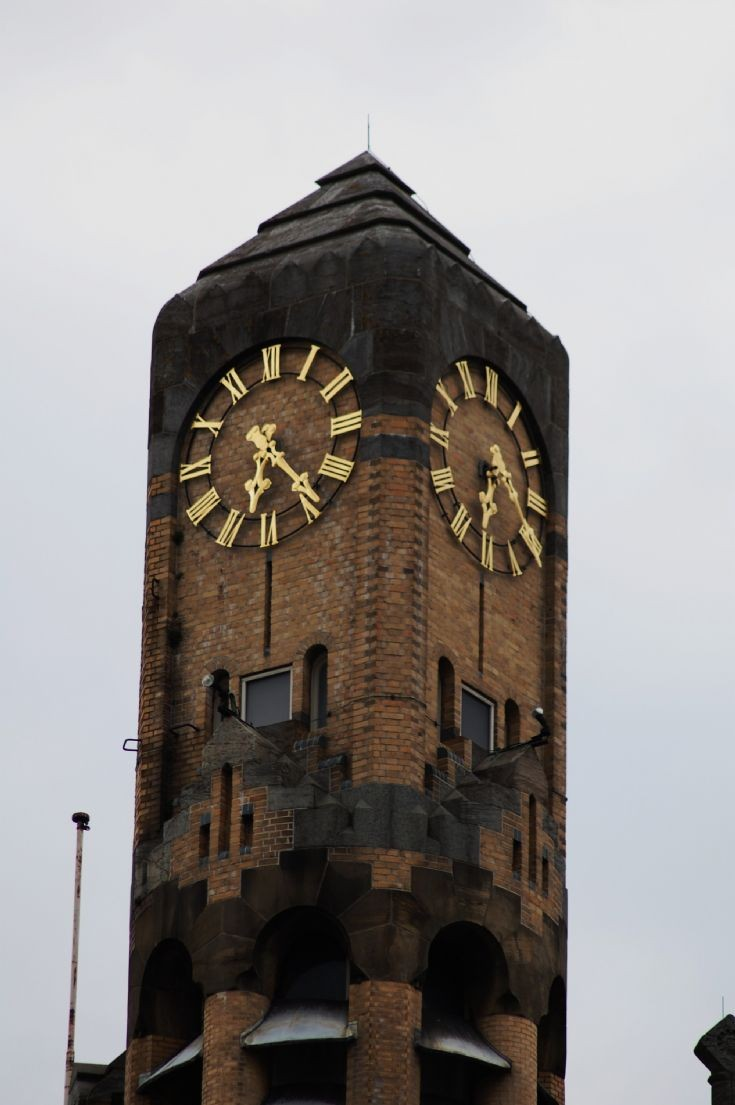 Clock of a tower