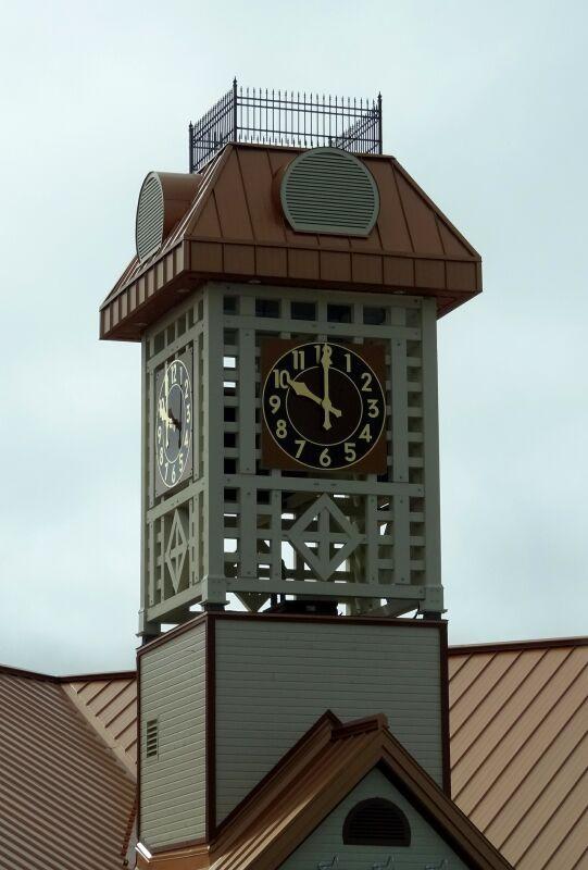 Clock in Amos