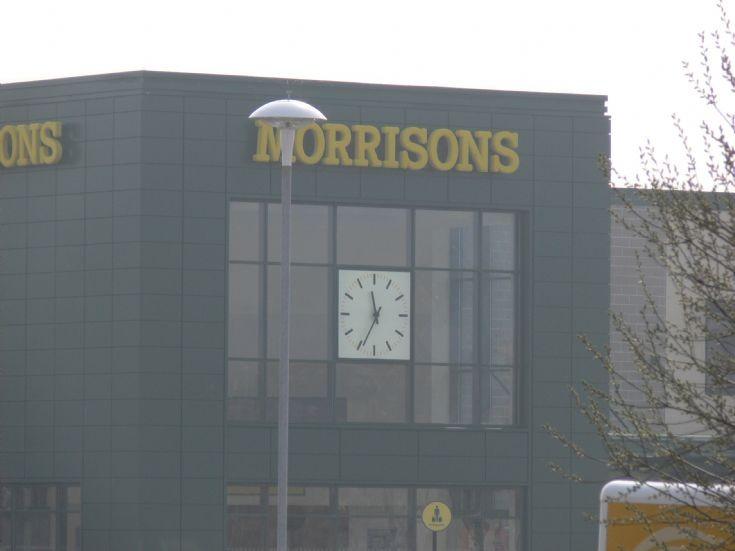 Supermarket Clock