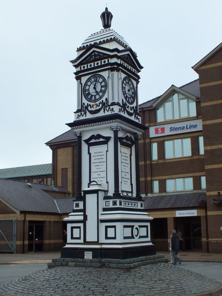 Photo of Holyhead Station Clock